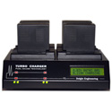 Dolgin TC400 Four-Position Battery Charger for Sony NP F Series Batteries
