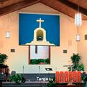 Draper 116015 Targa 100 Inch NTSC Matt White XT1000E 110 V Screen