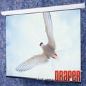 Draper 116240EHU Targa - 119 Inch HDTV Argent White XH1500E 110 V with LVC-IV Low Voltage Controller