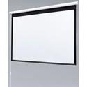 Draper 129001 Baronet 50x50 Matte White Motorized Wall Screen