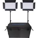 Dracast DRK2000B2K LED2000 Bi-Color Kala LED 2-Light Kit