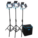 Dracast DRSPL3500BH S Series LED500 PLUS Bi-Color 3-Light Kit with Hard Case