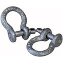 3/16 1/3Ton Rated Screw Pin Shackle