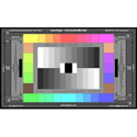 DSC Labs SRW23-CDM28R ChromaDuMonde28R Color Correction Test Chart with Resolution - Standard 21.3 x 13