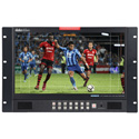 Datavideo TLM-170LR 17.3 Inch LCD Monitor with 3G/HD-SDI and HDMI Inputs - 7 RU Rackmount with Adjustable Vertical Tilt