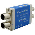Canare DVJB-W Normal Standard Size Dual Video Jack