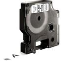 Dymo 1/2inx23ft Black on White Tape