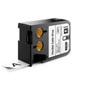 Dymo 1868808 XTL 1-Inch (24 mm) Flexible Cable Wrap - Black on White