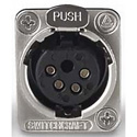 SwitchCraft E-Series 4 Pin XLR - Female Nickel