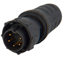 Switchcraft EN3C5MX ENE Series 5 pin Male Cable End Connector