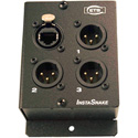 ETS PA205M InstaSnake 3-Channel XLR Male CAT5 Audio Balun