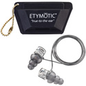 Etymotic ER20XS High-Definition Earplugs with Standard Fit Clear Stem & Frost Tip