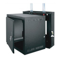 Middle Atlantic EWR-10-17SD EWR Series 10 Space 17 Deep Wall Mount Rack - Solid Door