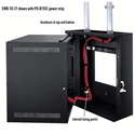 Middle Atlantic EWR-8-17 EWR Series 8 Space 17 Deep Wall Mount Rack