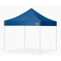 E-Z Up EP2S10BL Enterprise Shelter 10x10 Foot Royal Blue Top and White Frame