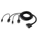 Belkin F1D9401-06 OmniView Enterprise 2-Port KVM Cable