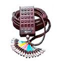 20ch(16x4)Fan-Box Snake 200ft w/1/4