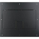 FSR FL-600P-BLK-C Cover (No Flange) With Hinged Door in Black Sandtex