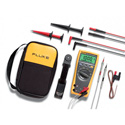 Fluke 179/EDA2 Electronics Multimeter and Deluxe Accessory Combo Kit