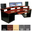 Omnirax Force 32 Audio Video Workstation (Mahogany Formica)