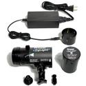Frezzolini ELWK EyLight w/ LED75 LAMP 3000K  (Includes EyLight 3000K/ Battery/ Charger/Power Supply/ Shoe and Stud)