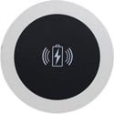 FSR TC-WC1-BLK-NPS Table Coaster Qi Wireless Charger without Power Supply - Black