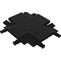 Guard Dog GDCR5X125 4-Way Cross For 5 Ch Cable Protector - Black Lid/Black Ramps