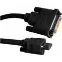Gefen CAB-DVI2HDMI-LCK-06MM DVI to HDMI Locking Cable 6 ft (M-M)
