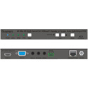 Gefen EXT-UHDV-HBTLS-TX 4K Ultra HD Multi-Format 2x1 HDBaseT Sender with Scaler Auto-Switching and POH