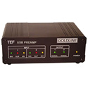 Gold Line TEF25 USB Based Pre Amplifier for Acoustical Analysis - Mic not included