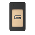Glyph AR1000GLD Atom USB-C (3.1 Gen 2) / USB3.0 SSD Compatible with Thunderbolt 3 - Gold 1TB Raid