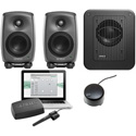 Genelec 8320.LSE Tri SAM Two 8320As & One 7350A Subwoofer - GLM V2.0 User Kit with Volume Control