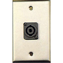 Contractor Series Wall Plate with 1 speakON Style Connector