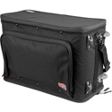 Gator GR-RACKBAG-3UW 3U Lightweight rack bag w/ tow handle and wheels