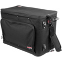 Gator GR-RACKBAG-4UW 4U Lightweight rack bag w/ tow handle and wheels