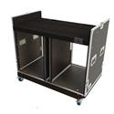 Grundorf COMBO-D16 16sp. Double Wide Combo Case - Black