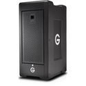 G-Tech 0G04706 G-SPEED Shuttle XL with RAID Thunderbolt 2 8-Bay Storage and 2 ev Series Bay Adapters - 24TB - Black