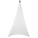 Gator GPA-STAND-1-W Stretchy Speaker Stand Cover - 1 sided - White