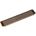 Gator GRW-PNLPRF1 Slotted Panel 5/32 Inch Vent Holes 1.2mm Flanged for Rigidity 1U