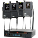 Galaxy Audio AS-1800-4 Four person Wireless Monitor System Code B3 554-570 MHz