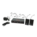Galaxy Audio EDXR-38-Headset-D EDX Wireless Microphone System - Code D Freq. Range 584-607 MHz