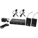 Galaxy Audio EDXR-38VV-D EDX Wireless Microphone System - Code D Freq. Range 584-607 MHz