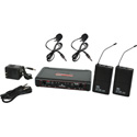 Galaxy Audio EDXR-38VV-N EDX Wireless Microphone System - Code N Freq. Range 518-542 MHz
