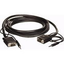 Packaged Combo VGA Mini Stereo Male to Male With Stereo Mini Plug 6FT