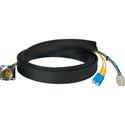 Camplex FCS015A-MR Canare Hybrid Fiber Optic Receptacle Cable SMPTE/ARIB w/ SC - Male 1ft