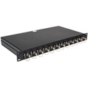 Camplex 12-Port ST to ST Optic Fiber Feedthru Rackmount Cabinet