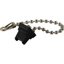 Camplex SC Fiber Connector Dust Cap with Metal Chain for Chassis