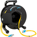 Camplex 8-Channel ST Single Mode Fiber Optic Tactical Snake on Reel 250 Ft