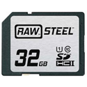 Hoodman RAWSDHC32GBU1 Raw Steel Class 10 SDHC Card - 32GB