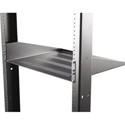 Hammond RASVL190314BK1 2U 14.5 Inch Deep Rack Shelf